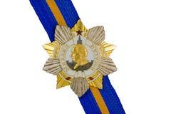 Mikhail Kutuzov Order of I degree on the ribbon. Royalty Free Stock Images