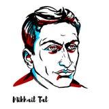 Mikhail Tal Portrait libre illustration