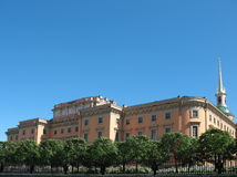 Mikhailovsky (castelo do Engineers') Fotografia de Stock