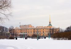 Mikhailovsky Castle Stock Images
