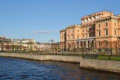 Mikhailovsky castle Stock Images