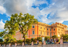 Mikhailovsky Castle also called the Engineer Castle Royalty Free Stock Photos