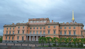 Mikhailovsky Castle (Engineers Castle). Stock Photos