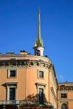 The Mikhailovsky Castle (Engineers Castle). Stock Images