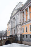 The Mikhailovsky Castle ( Engineers Castle ). Royalty Free Stock Images