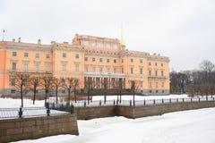 The Mikhailovsky Castle ( Engineers Castle ). Stock Photo