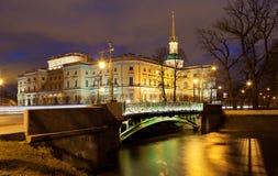 Mikhailovsky Castle stock photography