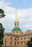 Mikhailovsky Castle (St Michael's castle, Engineers castle) Royalty Free Stock Photos