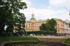 Mikhailovsky Castle (St Michael's castle, Engineers castle) Royalty Free Stock Images