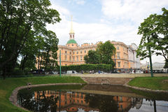 Mikhailovsky Castle (St Michael's castle, Engineers castle) Royalty Free Stock Photography