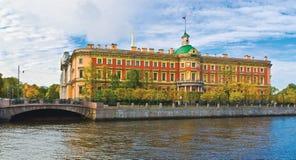 The Mikhailovsky Castle Stock Photography