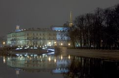 Mikhailovsky Castle. St.-Petersburg Royalty Free Stock Photos