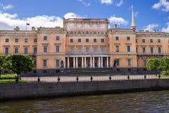 Mikhailovsky Castle in  St. Petersburg Royalty Free Stock Photography