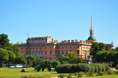 Mikhailovsky castle in St. Petersburg. Russia Stock Photo