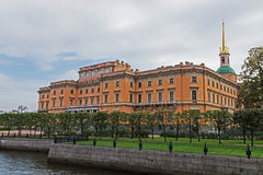 Mikhailovsky Castle, St.Petersburg, Russia Royalty Free Stock Photo