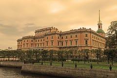 Mikhailovsky Castle, St.Petersburg, Russia. Stock Photography
