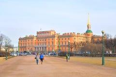The Mikhailovsky Castle. Royalty Free Stock Photos