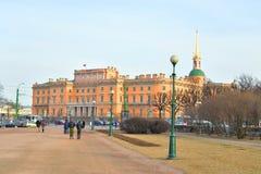 The Mikhailovsky Castle. Royalty Free Stock Photo