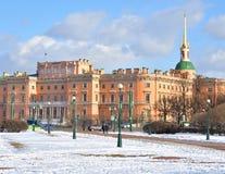 The Mikhailovsky Castle. Stock Photos