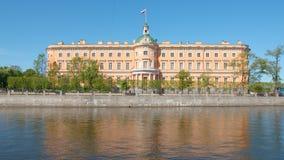 Mikhailovsky Castle in the summer Stock Photos