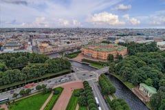 Mikhailovsky costruisce il castello fotografia stock libera da diritti