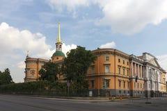 Mikhailovsky or Engineers' Castle, Saint Petersburg, Russia Royalty Free Stock Photos