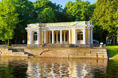 Mikhailovsky Garden. Petersburg. Royalty Free Stock Photo