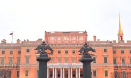 Mikhailovsky kasztel fotografia royalty free