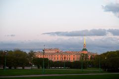Mikhailovsky Palace (Engineers Castle), St.Petersburg, Russia Stock Photography