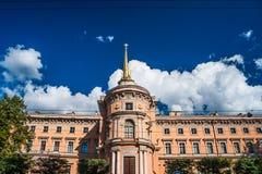 Mikhailovsky Roszuje lub Konstruuje castl, aka St Michael kasztel, Obrazy Royalty Free