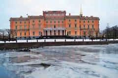 Mikhailovsky-Schloss in St Petersburg, Russland Lizenzfreies Stockfoto