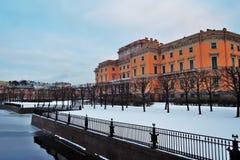 Mikhailovsky-Schloss in St Petersburg, Russland Stockbild