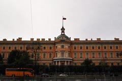 mikhailovsky slott Royaltyfri Fotografi