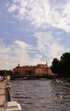 Mikhailovsky slott (teknikerslotten), St Petersburg, Ryssland Royaltyfri Bild
