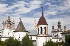 Mikhaylo-Arkhangelsky monastery. Yuriev Polsky. Russia royalty free stock image