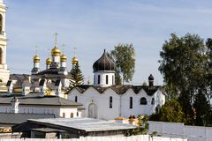 Mikhaylovskaya Sloboda, região de Moscou, Rússia Imagem de Stock Royalty Free