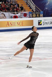 Miki Ando, Japanese figure skater Royalty Free Stock Images
