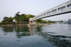 Mikimoto Pearl Island, Japan. Bridge on Mikimoto Pearl Island in Toba city, Japan Stock Photos