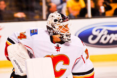 Mikka Kiprusoff Calgary Flames Royalty Free Stock Photography