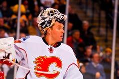 Mikka Kiprusoff Calgary Flames Royalty Free Stock Images