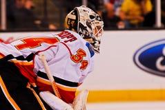 Mikka Kiprusoff Calgary Flames Stock Photo