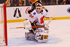 Mikka Kiprusoff Calgary Flames Royalty Free Stock Photos