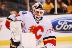 Mikka Kiprusoff Calgary Flames fotografia stock