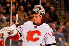 Mikka Kiprusoff Calgary Flames fotografia stock libera da diritti