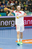 Mikkel Hansen of Denmark Stock Images