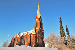 Mikkeli, Finland. Lutheran Cathedral Royalty Free Stock Photo
