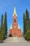 Mikkeli, Finland. Lutheran Cathedral Stock Photography