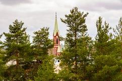 Mikkeli, Suomi or Finland. Mikkeli cathedral view, Eastern Finland Royalty Free Stock Image