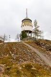 Mikkeli, Suomi or Finland. Water tower Naisvuori in Mikkeli, Finland Royalty Free Stock Photo