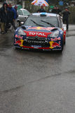 Mikko Hirvonen at Monte Carlo Rally Royalty Free Stock Photo